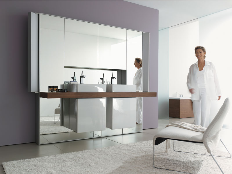 Badezimmer Duravit Mirrorwall - Installationsunternehmen Heidinger